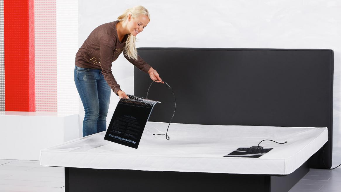 Wasserbett Luxus Podest montiert