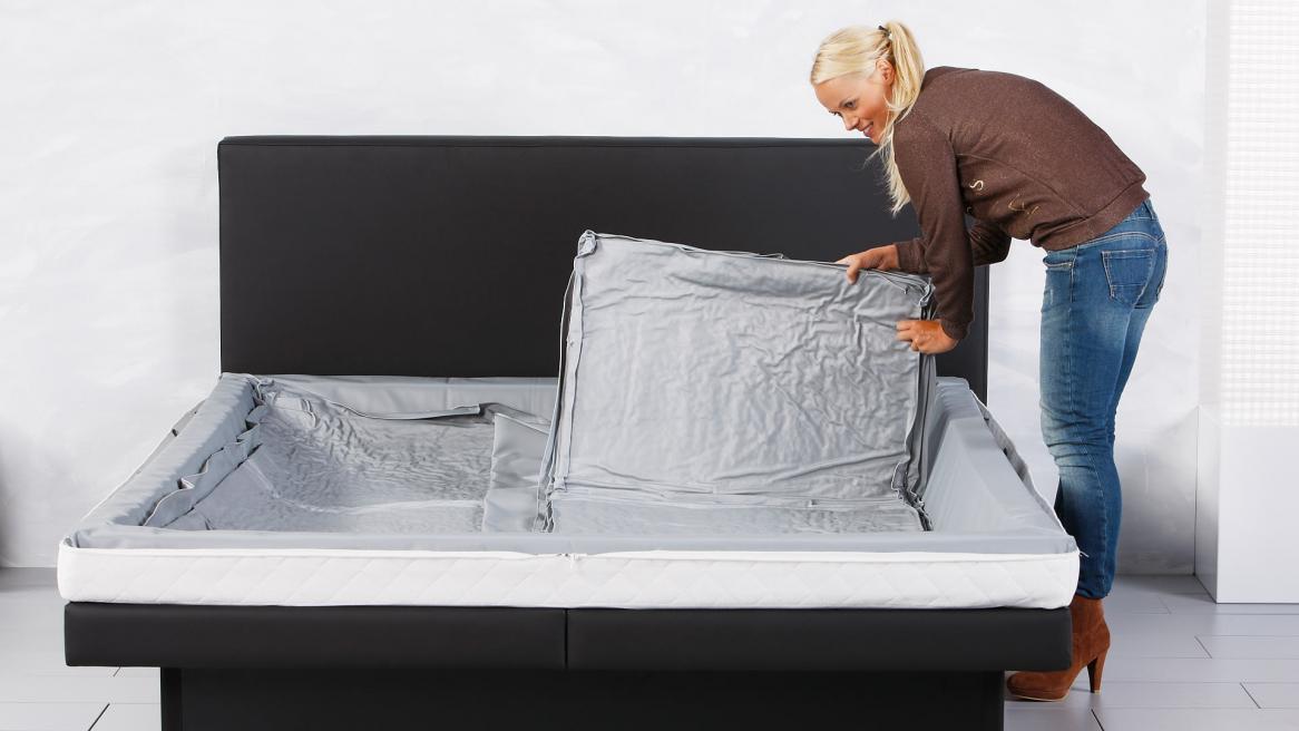 Wasserbett Luxus Pro Rechte Seite des Duo Sets einlegen