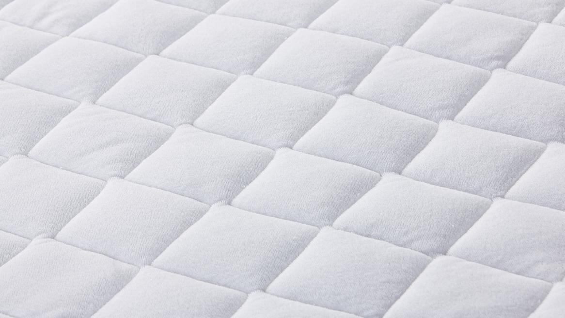 Wash-Cotton-Stretch Matratzenbezug Detailansicht