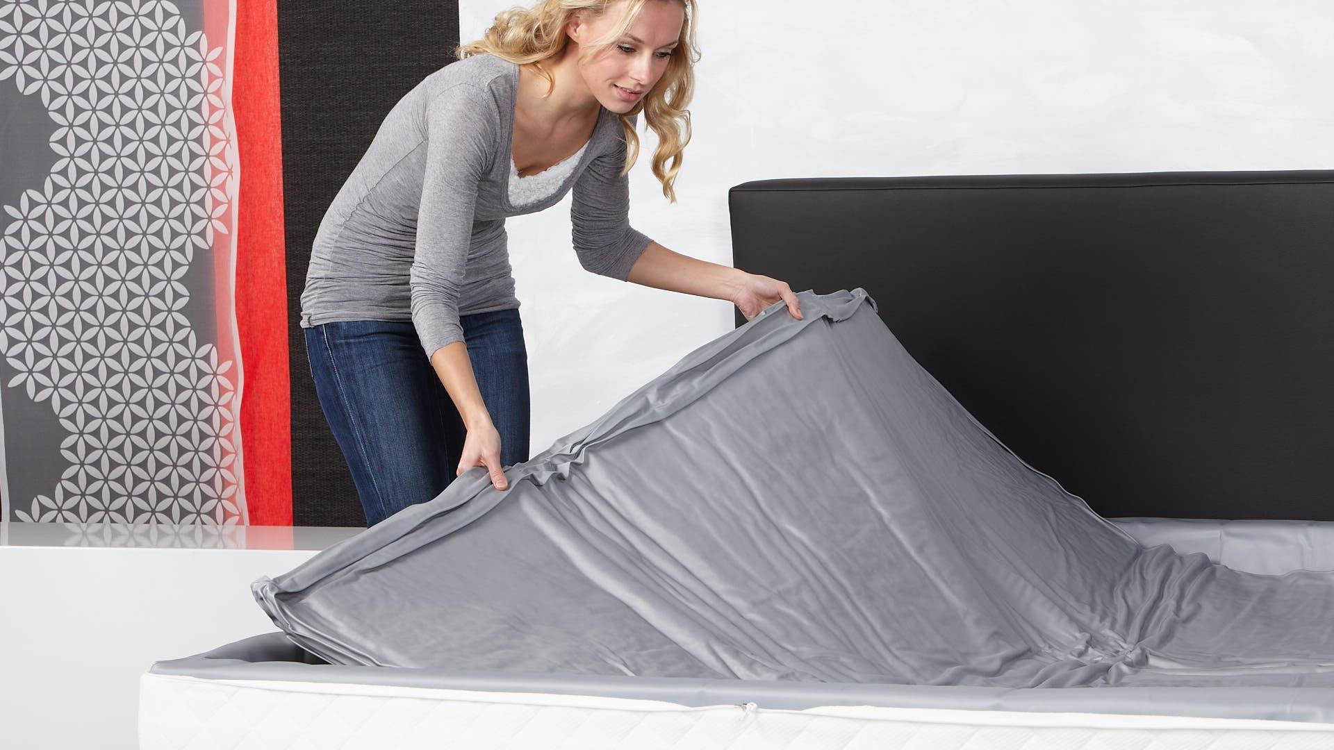 Wasserbettmatratze hochwertiges DuraStretch geprüft CE Vinyl