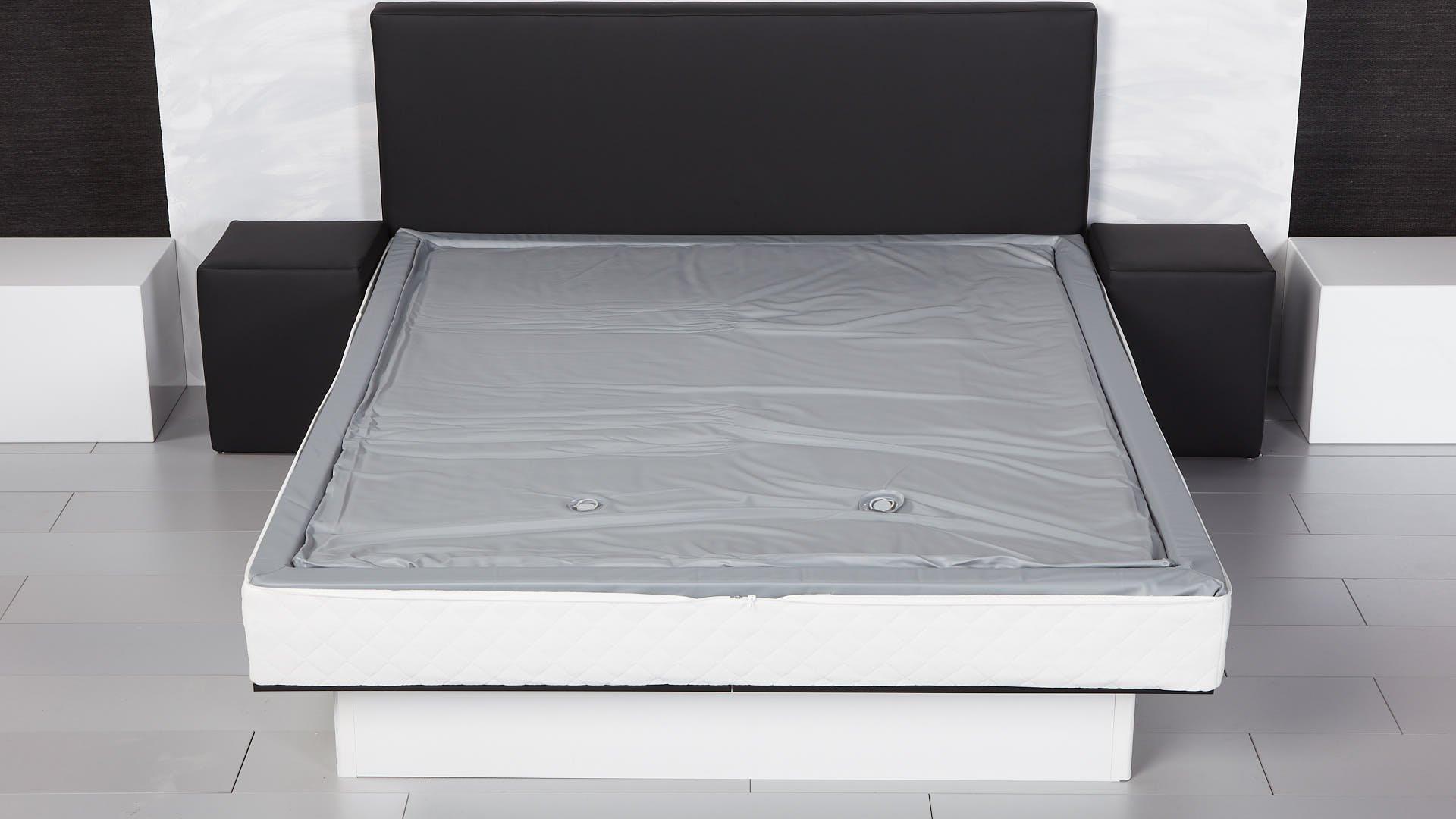 Mono-Wasserbettmatratze auf Wasserbett