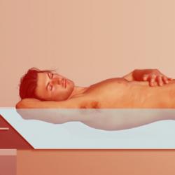 Ein Wasserbett bei Rückenschmerzen